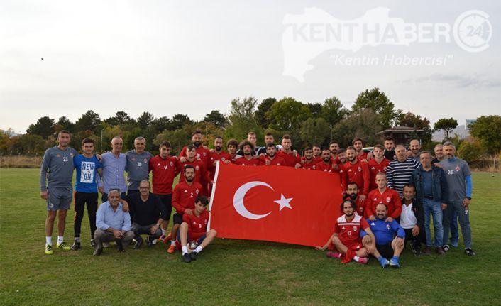 ANAGOLD 24 Erzincan spordan Barış Pınarı Harekâtına Destek