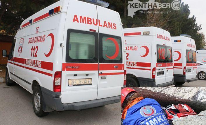 Erzincan'dan 21 Personel Deprem Bölgesinde